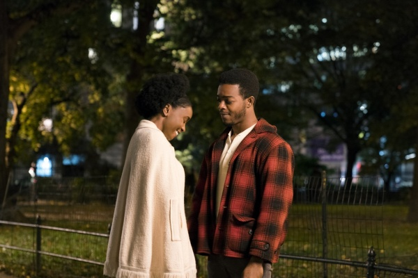if beale street could talk movie review - kiki layne and stephan james