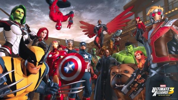 marvel ultimate alliance 3 - main cast