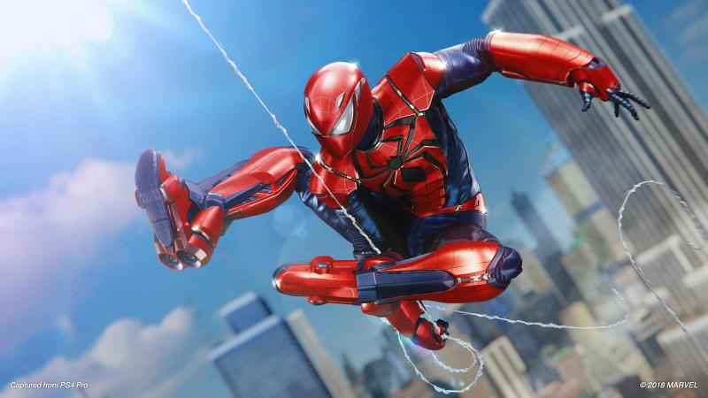 spider-man silver lining dlc - aaron aikman armor suit