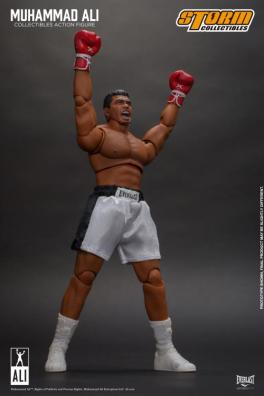 storm collectibles muhammad ali figure -arms up