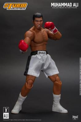 storm collectibles muhammad ali figure -fighting stance