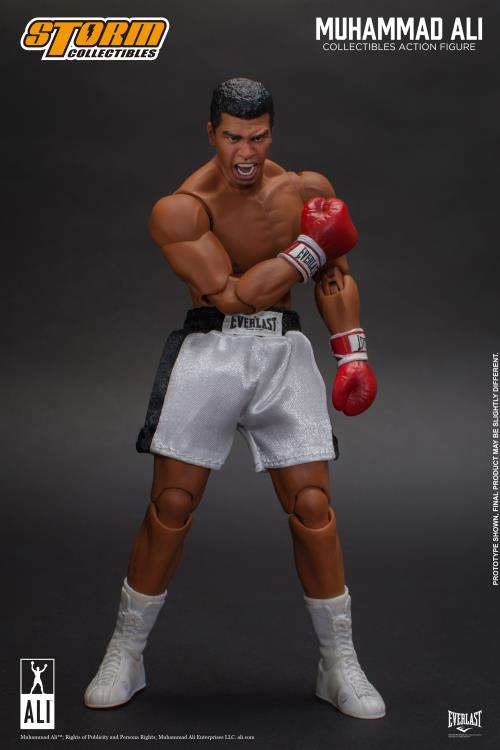 storm collectibles muhammad ali figure - knockout