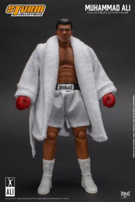 storm collectibles muhammad ali figure - with robe