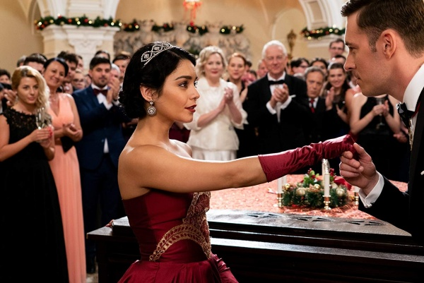 the princess switch - Vanessa Hudgens and Sam Palladio