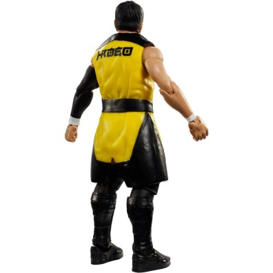 wwe elite nxt takeover series 4 hideo itami rear
