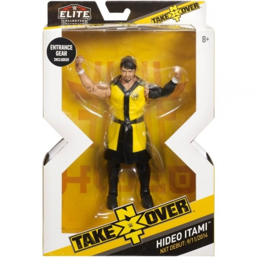 wwe elite nxt takeover series 4 hideo itami package front