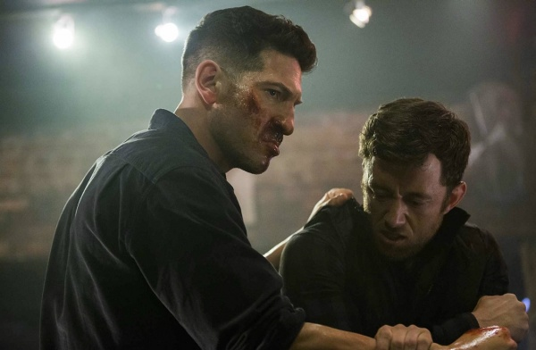 the punisher roadhouse blues review - frank meets a new friend