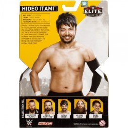 wwe elite nxt takeover series 4 hideo itami package rear