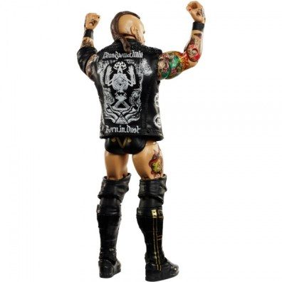 wwe elite nxt takeover series 4 aleister black rear