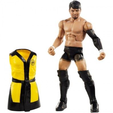 wwe elite nxt takeover series 4 hideo itami accessories