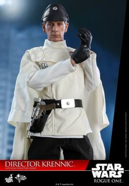 hot toys director krennic figure - putting-on-gloves