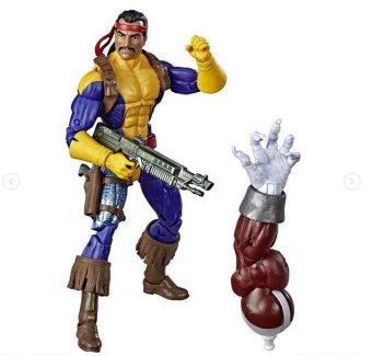 marvel legends x-men build-a-caliban loose - forge