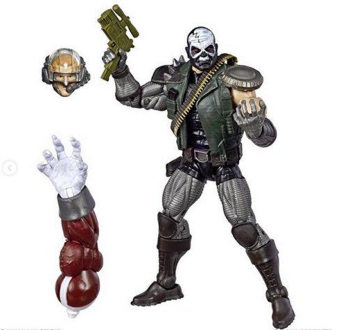 marvel legends x-men build-a-caliban loose - skullbuster