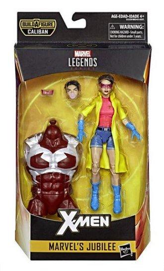 marvel legends x-men build-a-caliban packaging jubilee