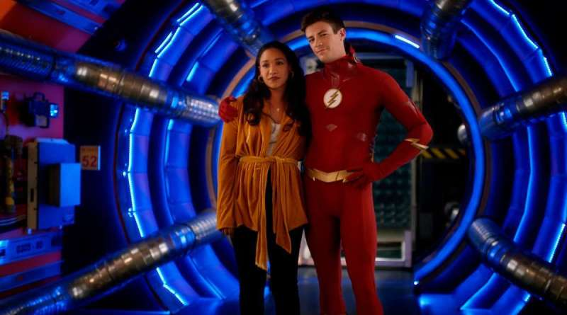 the-flash-the-flash-the-furious-review -iris and barry
