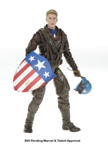 Marvel 80th Anniversary Legends Series Captain America and Peggy Carter 2-Pack (Captain America) oop