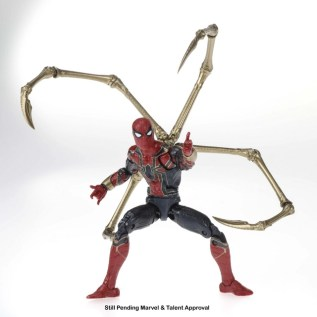 Marvel 80th Anniversary Legends Series Iron Man and Iron Spider 2-Pack (Iron Spider) oop
