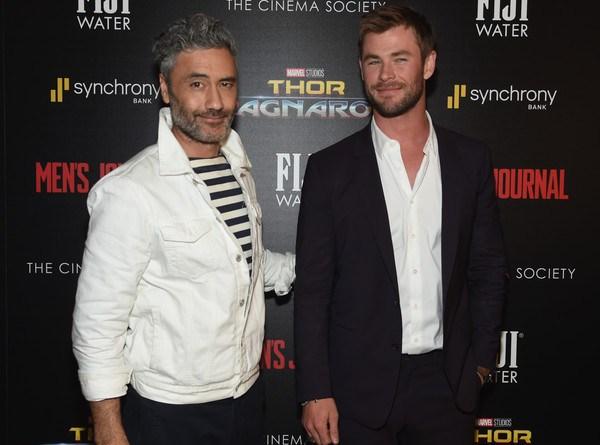Taika+Waititi+Chris+Hemsworth