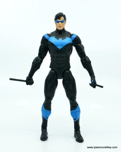 dc essentials nightwing figure review - front