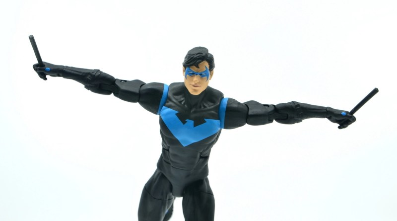 dc essentials nightwing figure review - main pic