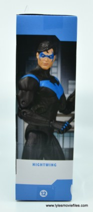 dc essentials nightwing figure review - package right side
