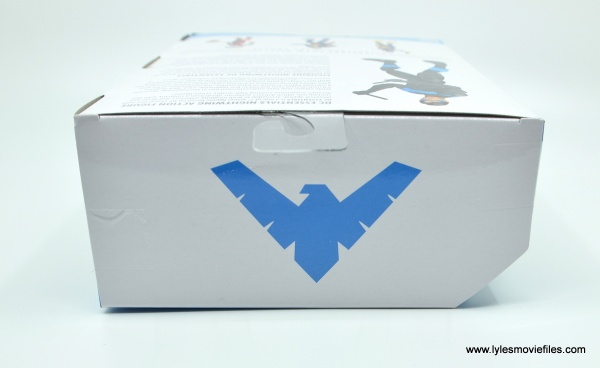 dc essentials nightwing figure review - package top