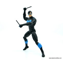 dc essentials nightwing figure review - ready for battle