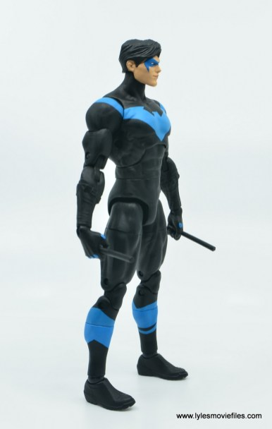 dc essentials nightwing figure review - right side