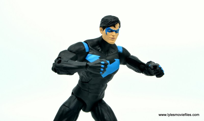 dc essentials nightwing figure review - time for a battle