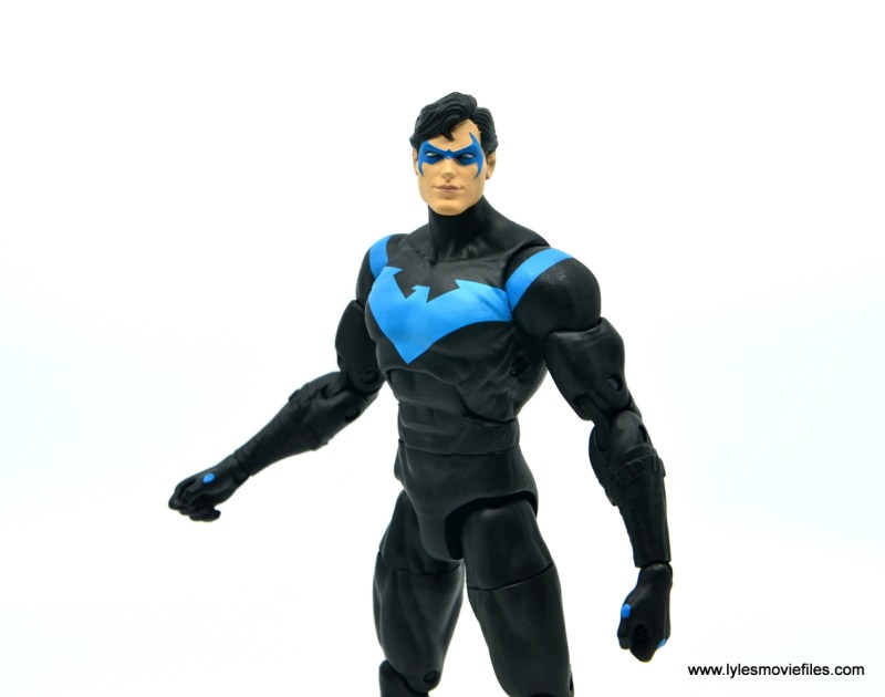 dc essentials nightwing figure review - wide shot