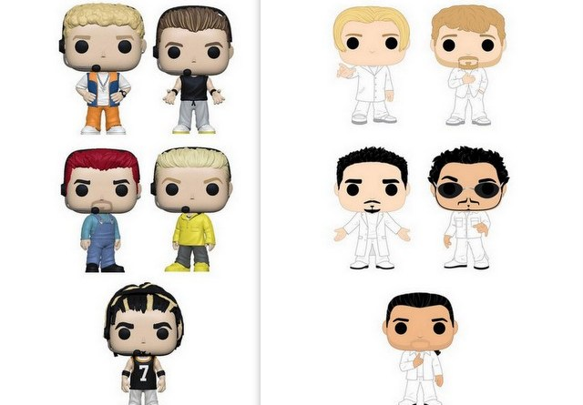 funko pops nsync and backstreet boys