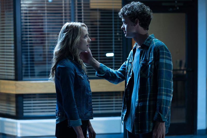 happy death day 2u review - jessica rothe and israel broussard