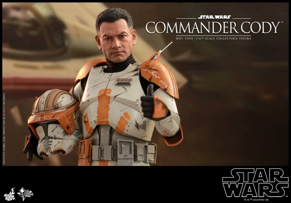 hot toys star wars revenge of the sith commander cody figure - main
