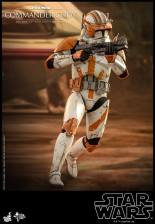 hot toys star wars revenge of the sith commander cody figure - on the run
