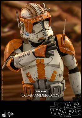 hot toys star wars revenge of the sith commander cody figure -fire away