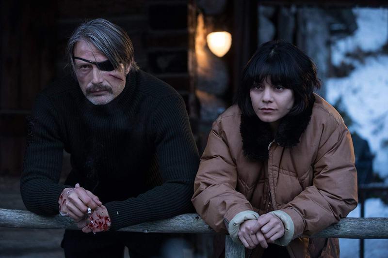 polar movie review - mads mikkelsen and vanessa hudgens