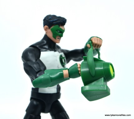 DC Multiverse Kyle Rayner figure review - charging ring