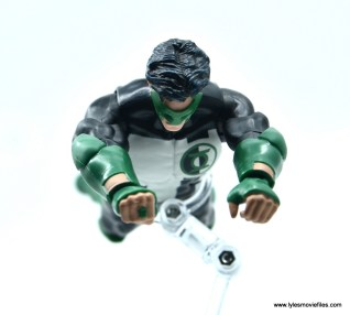 DC Multiverse Kyle Rayner figure review - flying ahead