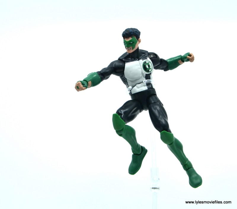 DC Multiverse Kyle Rayner figure review - in air