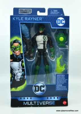 DC Multiverse Kyle Rayner figure review - package front
