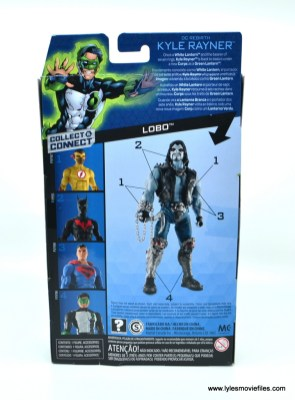 DC Multiverse Kyle Rayner figure review - package rear