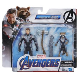 MARVEL AVENGERS ENDGAME THOR AND ROCKET RACCOON 6-INCH FIGURE TEAM PACK in pck