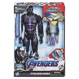 MARVEL AVENGERS ENDGAME TITAN HERO POWER FX BLACK PANTHER in pck