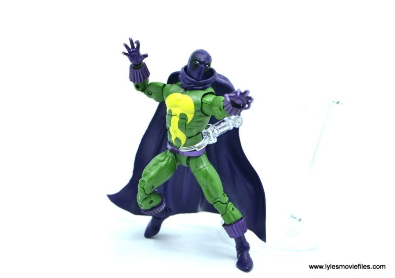 Marvel Legends Prowler figure review - in action