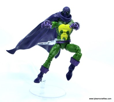 Marvel Legends Prowler figure review - leaping