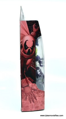 Marvel Legends Prowler figure review - package side