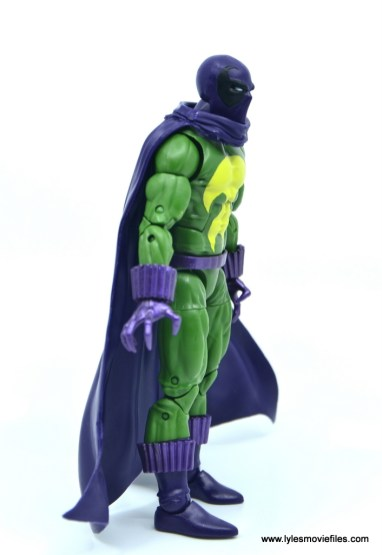 Marvel Legends Prowler figure review - right side