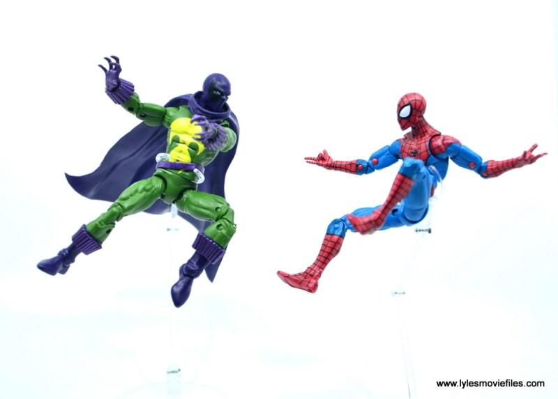 Marvel Legends Prowler figure review - vs spider-man