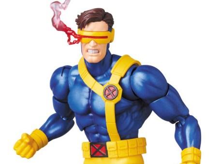 Marvel MAFEX Cyclops figure - smoking visor