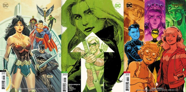 dc comics reviews for 3/6/19